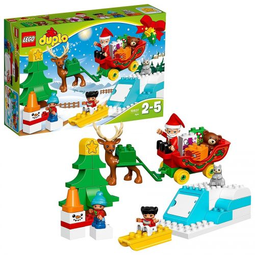 لگو داپلو مدل Lego, Duplo, Santa's Winter Holiday 10837