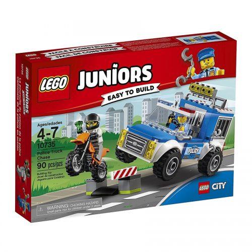 لگو جونیور مدل Lego, Juniors, Police Truck Chase 10735