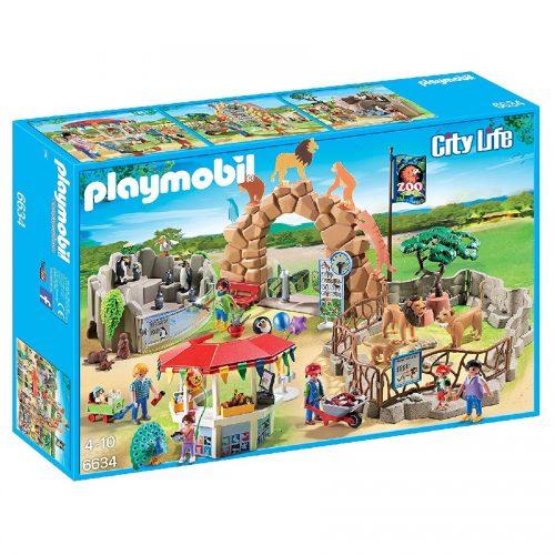 باغ وحش بزرگ شهر پلی موبیل 6634,Playmobil,Large City Zoo