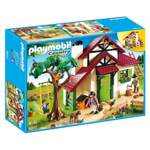خانه جنگلی پلی موبیل 6811,Playmobil,Forest Ranger's house