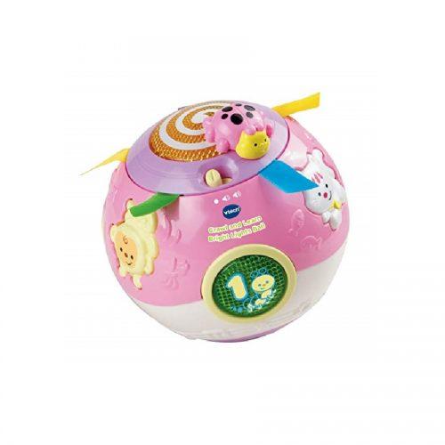 اسباب بازی توپ چرخان کد 47353 Vtech, Crawl and Learn Bright Lights Ball