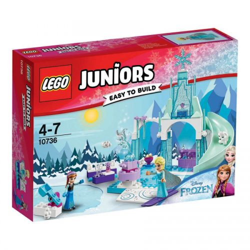 لگو سري Juniors مدل Lego, Anna And Elsa Frozen Playground 10736