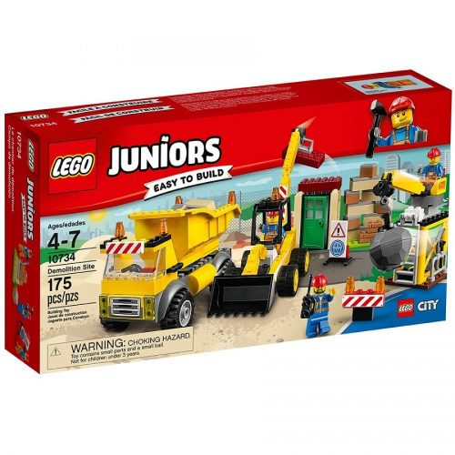 لگو جونیور سری Juniors مدل Lego, Demolition Site 10734