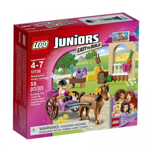 لگو جونیور سری Juniors مدل Lego, Stephanies Horse Carriage 10726