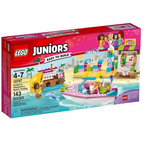 لگو جونیور مدل Lego, Juniors, Andrea & Stephanie's Beach Holiday 10747