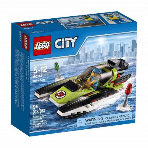 لگو قایق مسابقه ای سری City مدل Lego,Race boat 60114