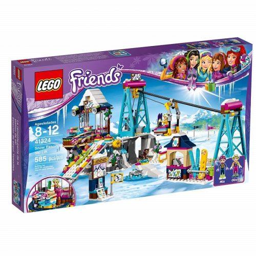 لگو اقامتگاه برفی اسکی سری Friends مدل Lego,Snow Resort Ski Lift 41324