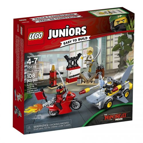 لگو سری Juniors مدل 10739 Lego, Ninjago, Shark Attack