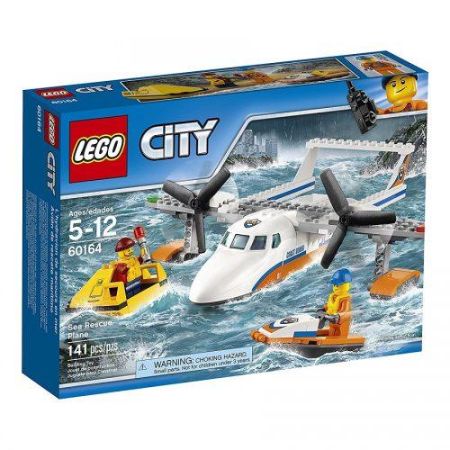 لگو هواپیمای دریایی سری City مدل Lego, Sea Rescue Plane 60164