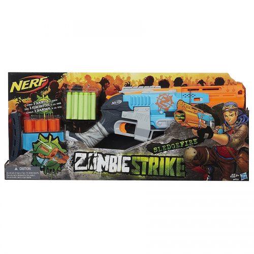 تفنگ نرف مدل Nerf, Zombie Strike Sledgefire Blaster, A4326