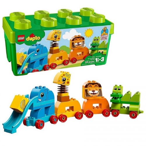 لگو داپلو مدل Duplo, My First Animal Brick Box 10863