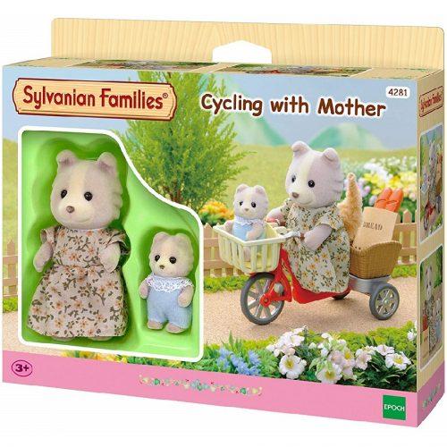 دوچرخه سواری به همراه مادر Sylvanian families 4281