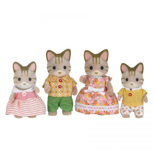 خانواده گربه خط دار Sylvanian families 5180