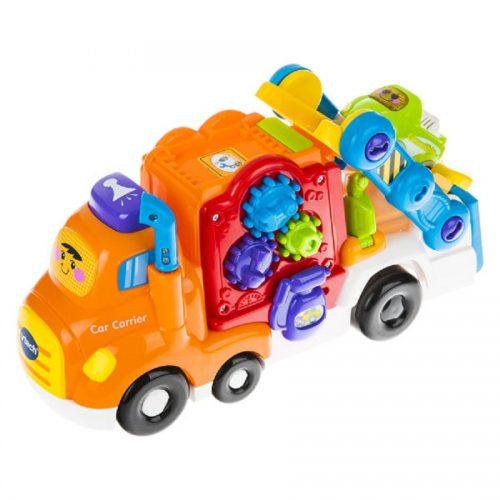 بازی آموزشی وی تک مدل Toot Toot Drivers Car Carrier