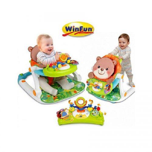 میز بازی و واکر موزیکال دوکاره Winfun 00859