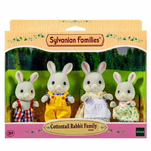 خانواده خرگوش دم پنبه ای کد Sylvanian families 4030