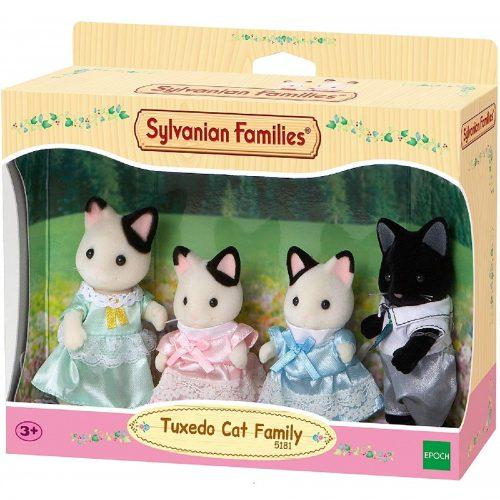 خانواده گربه تاکسیدو کد Sylvanian families 5181