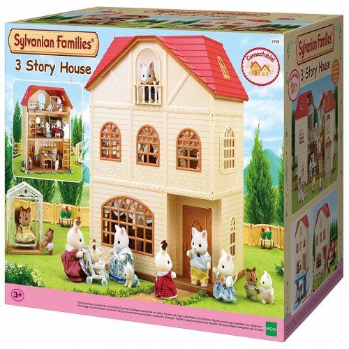 خانه عروسک سه طبقه کد 2745 Sylvanian families