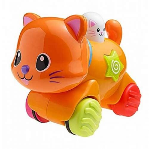 گربه موزیکال چرخ دار وینفان کد 00734 Winfun