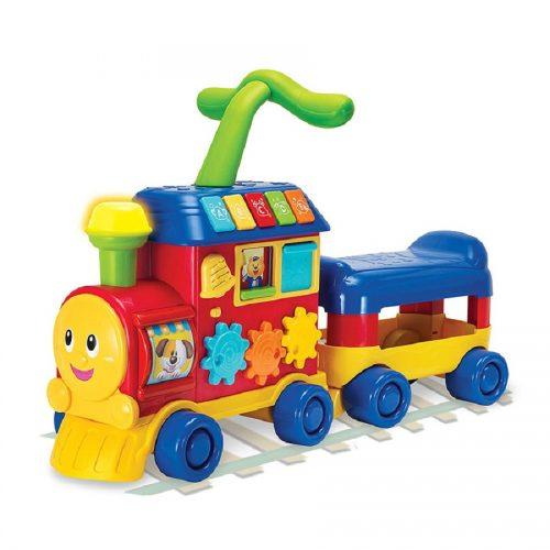 واکر قطار چندکاره قرمز وینفان کد 008030 WinFun