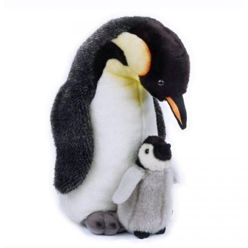 عروسک پنگوئن با بچه للی كد 770821 Lelly