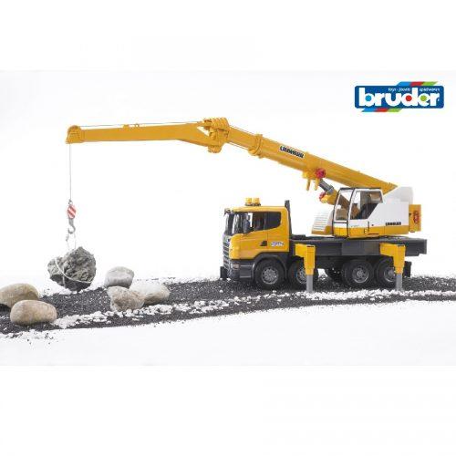 جرثقیل برودر Bruder, Scania, Liebherr,03570