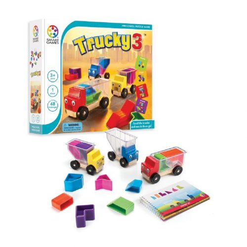 بازی فکری تراکی 3 Smart Games, Trucky