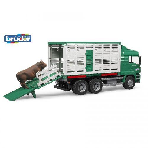 کامیون حمل گاو Bruder،02749