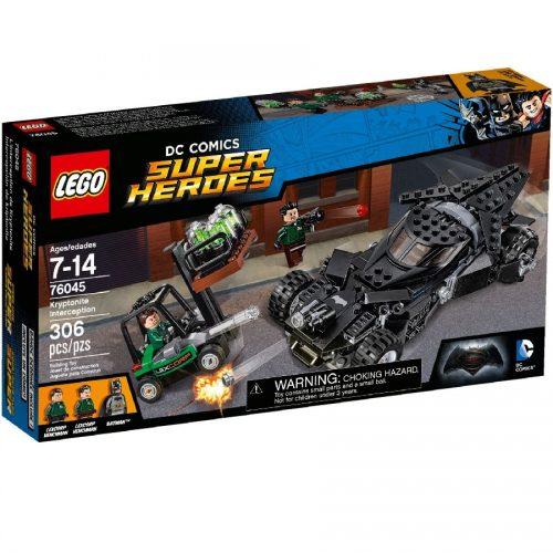 لگو برخورد کریپتونی Lego,Kryptonite Interception,76045