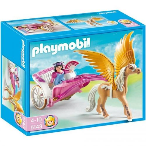 5143,playmobil, Pegasus،پلی موبیل،کالسکه