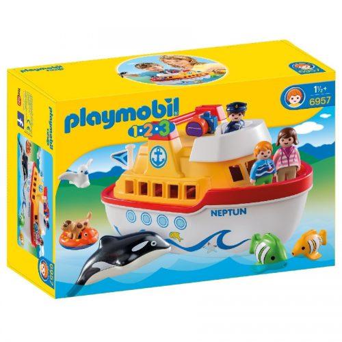 کشتی تفریحی Playmobil,My Take Along Ship ، 6957