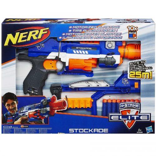 تفنگ دارتی NERF,N-STRIKE ELITE STOCKADE BLASTER،98695