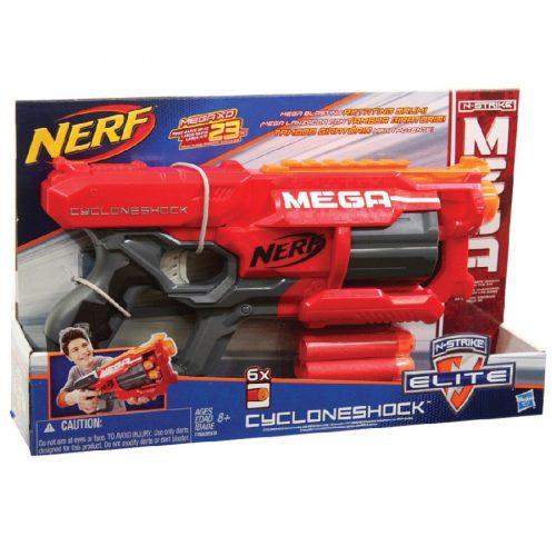 تفنگ دارتی NERF, N-Strike Elite MEGA Cyclone Shock،A9353