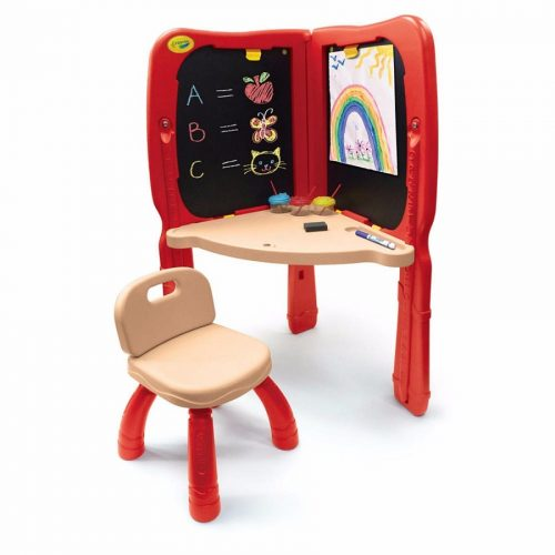 تخته نقاشی دو طرفه کودک 5040 Crayola, Crayola Super-Duper Art Studio Easel