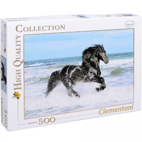 پازل 500 تکه 30175 Clementoni, Black Horse