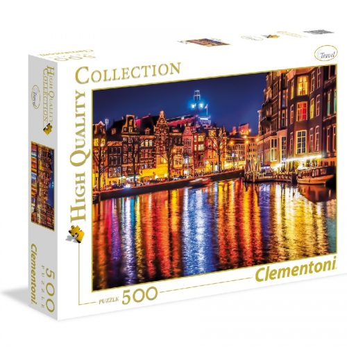 پازل 500 تکه 35037 Clementoni,AMSTERDAM