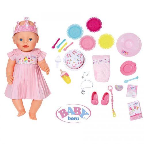 عروسک 43 سانتی جشن تولد بی بی بورن Zapf, Baby Born