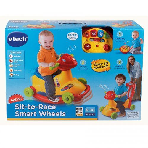 چهار چرخه و راکر کد 138600 Vtech, Sit-to-Race Smart Wheels