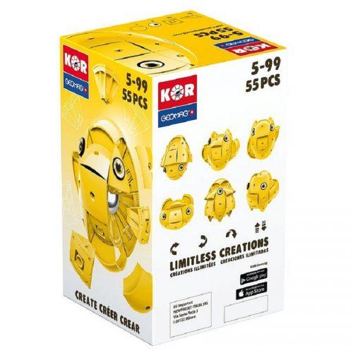 مدلسازی مگنت ژیومگ زرد مدل KOR Yellow کد 675 ,Geomag
