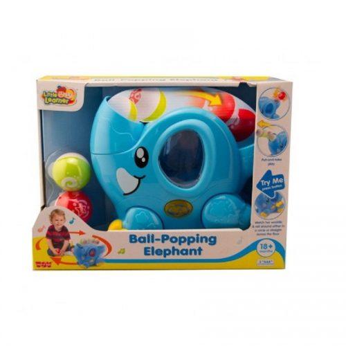 فیل موزیکال متحرک کد 4258 هپي کيد Hap-p-kid, Ball Popping Elephant