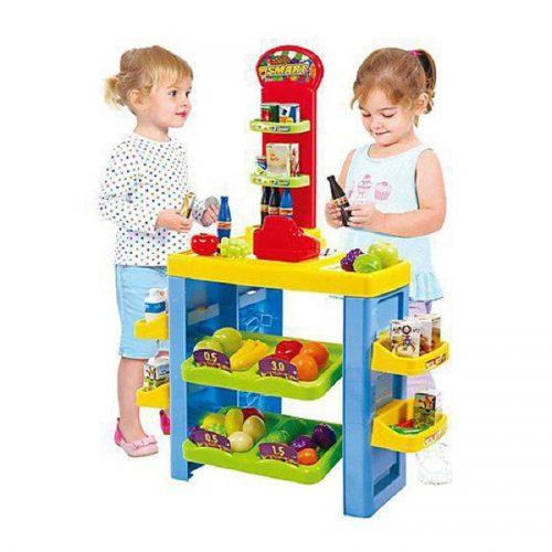 سوپر مارکت 54 تکه کودک پلی گو کد 3247 Play go