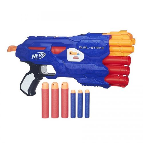 تفنگ نرف ضامن دار مدل 0642 Nerf, Dual Strike